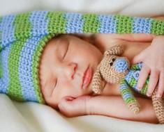 Сколько спит новорожденный ребенок