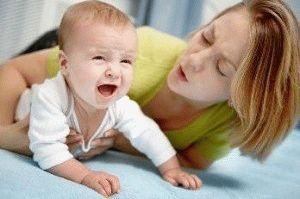 рвота у грудного ребенка