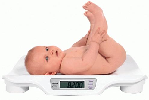 нормальный вес новорожденного ребенка