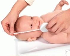 Рост новорожденного ребенка
