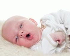 Мокрый кашель у грудного ребенка