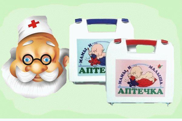 инструкция для детской аптечки