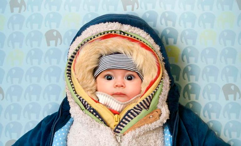 Как одеть новорожденного на прогулку