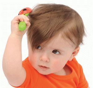Почему у новорожденного ребенка плохо (медленно) растут волосы на голове?