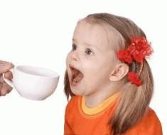 можно ли ребенку давать чай