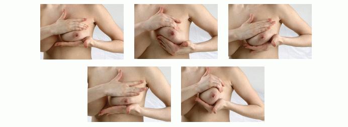 массаж груди и сосков видео
