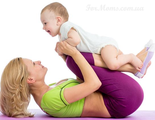 Фитнес для кормящих мам чтобы похудеть