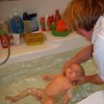 Занятие в ванной