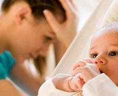 женщина после родов в депрессивном состоянии