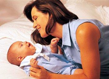 Ребенок на 4 месяце жизни