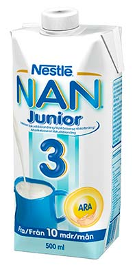 готовая молочная смесь nan