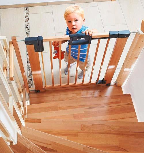 ворота безопасности для лестницы