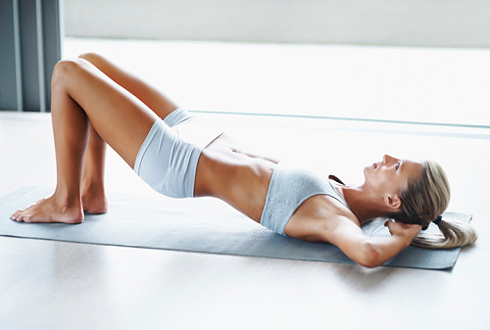 гимнастика упражнение мостик