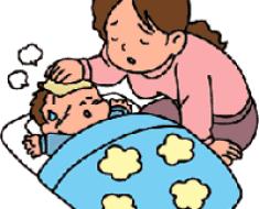 жаропонижающее для новорожденных детей