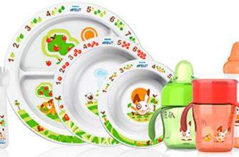 первая детская посуда