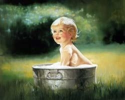 Как правильно купать новорожденных детей