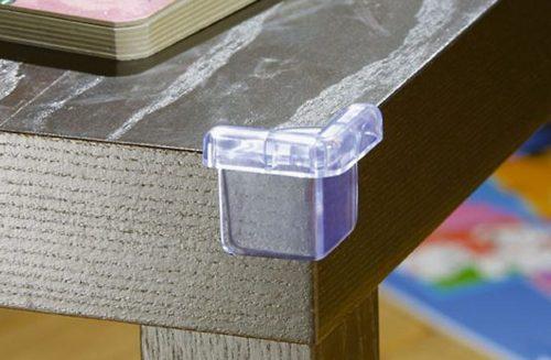 силиконовые насадки на углы мебели