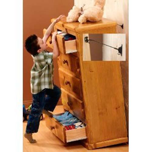 Защита мебели от опрокидывания