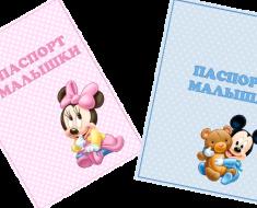 паспорт-новорожденного