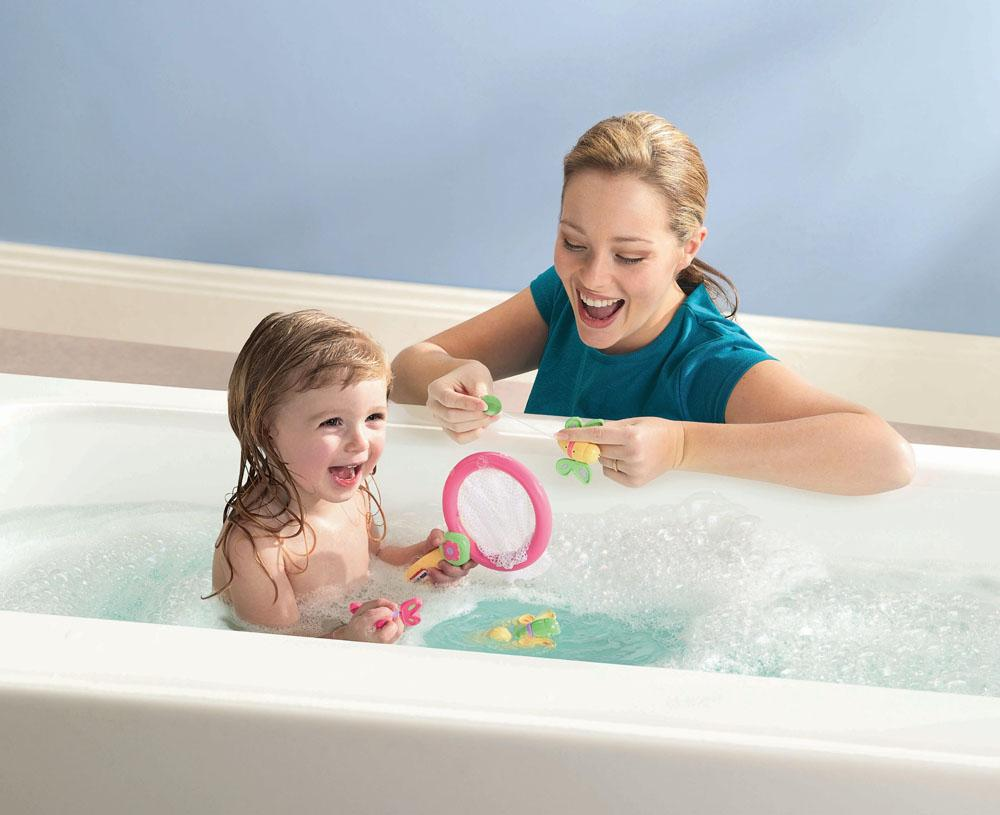 игры с ребенком в ванной