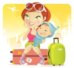 в путешествие с ребенком