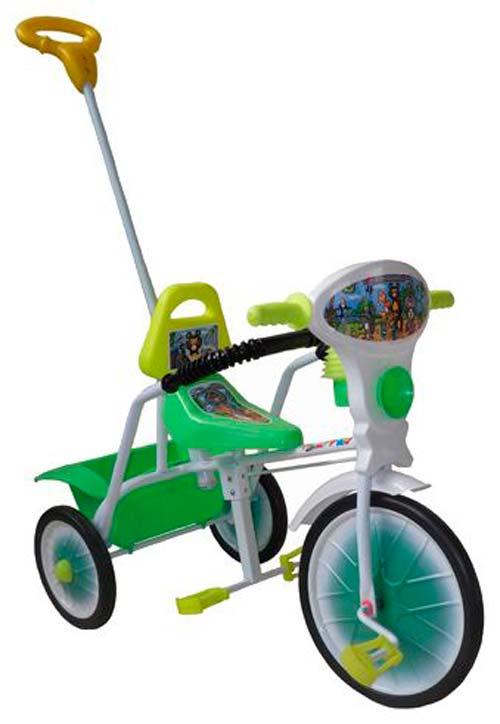 Велосипед трехколесный Малыш, цвет: зеленый, купить оптом и в розницу в инт