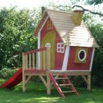 игровые деревянные домики
