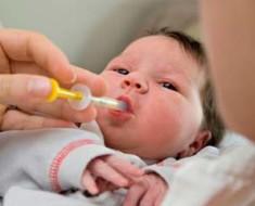 как давать грудному ребенку лекарства