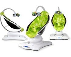 Кресло-качалка green plush MamaRoo