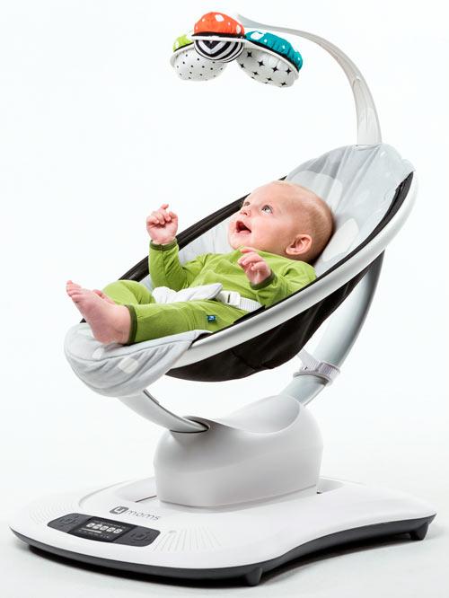 Для укачивания ребенка устройство