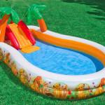 Детские надувные и каркасные бассейны на лето для дачи