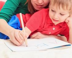 учить писать до школы
