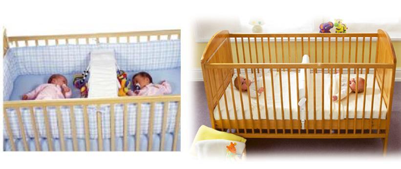 одна кроватка для двойни