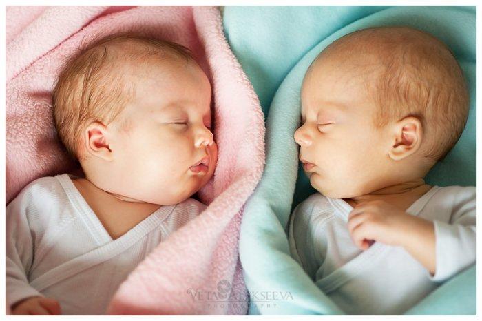 Как родить близнецов с одной трубой