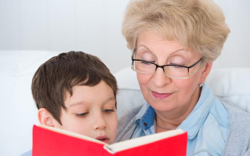 бабушка главная в семье