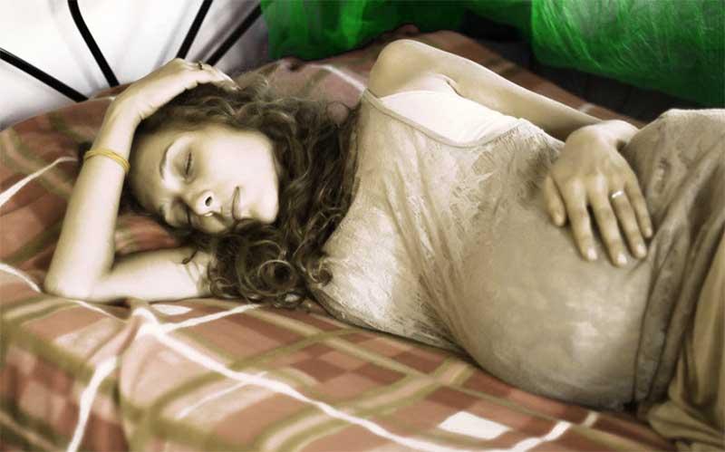 Особенности сна в каждый период беременности
