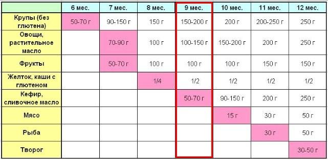5ae1b6aac67c Режим дня ребенка в 9 месяцев - таблица по часам и советы родителям