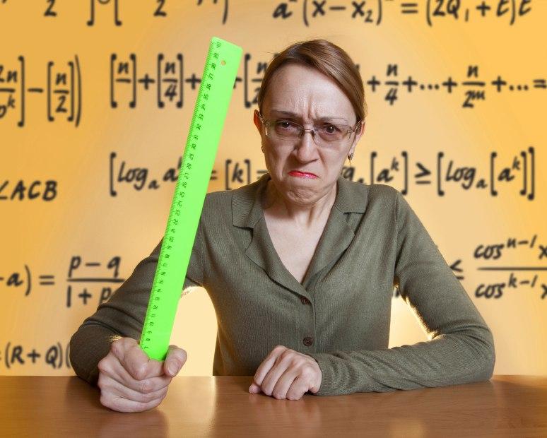 негативное отношение к преподавателям