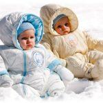 зимнии комбинезоны для детей