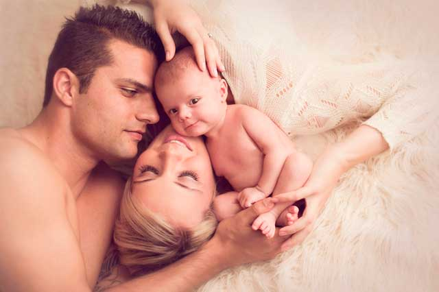 папа-с-новорожденным