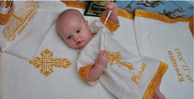 крещение-ребенка