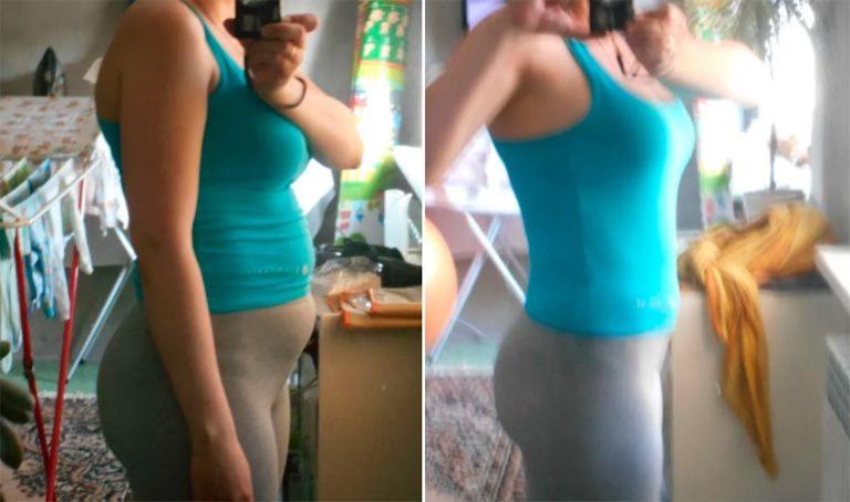 как похудели после родов фото