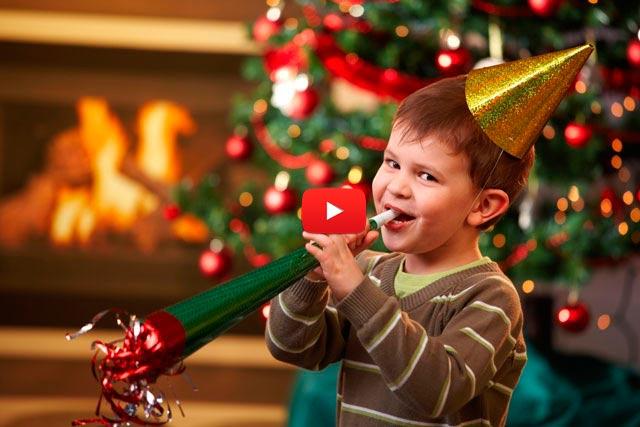 игры с детьми на новый год