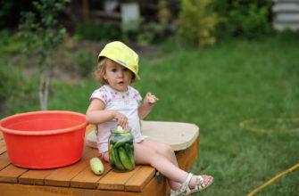 отдых ребенка на даче летом