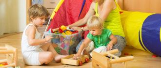 уборка в детской комнате
