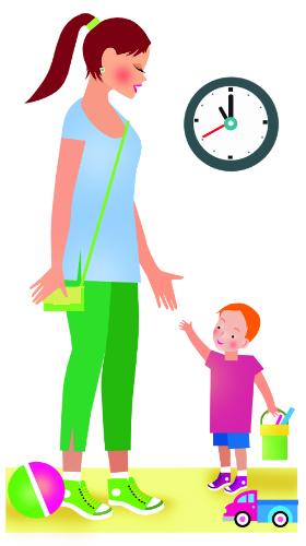уводим ребенка с детской площадки-1