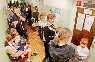детская поликлиника очередь