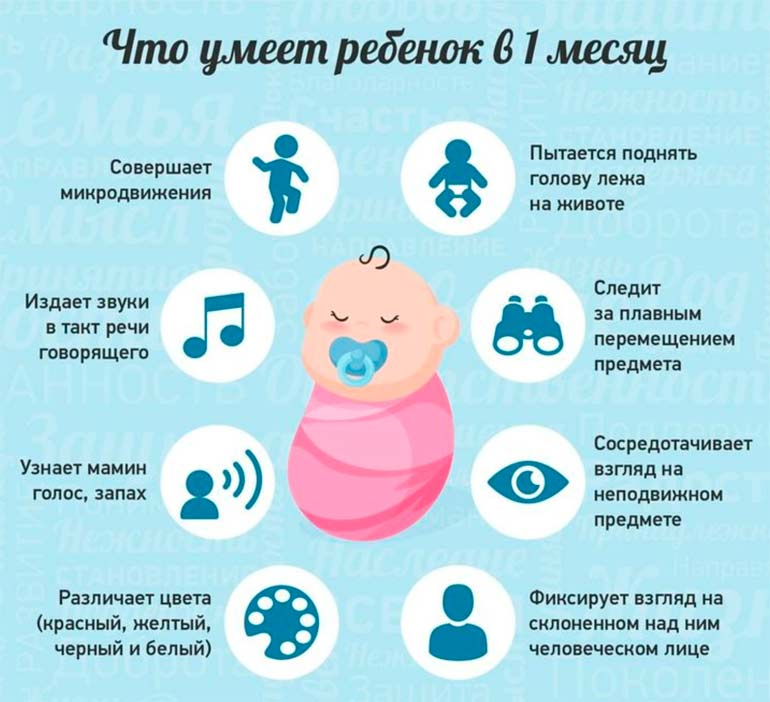 что-умеет-ребенок-в-1-месяц