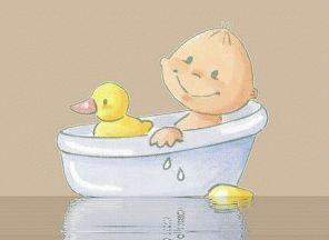 купание малыша в травах