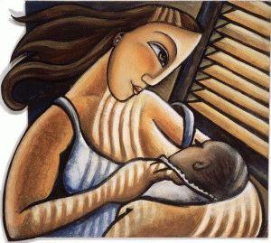 отучить ребенка сосать грудь